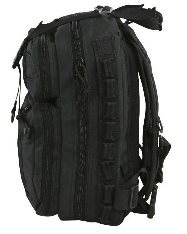 Delta Backpack Μαύρο